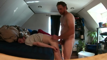 COLLEGE TWINK FUCKED HARD BY DADDY BEAR