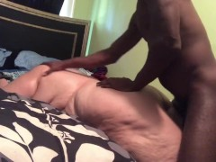 Bbw gets fucked rough by a bbc