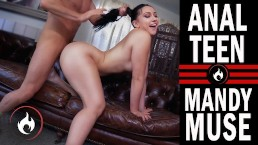 StepDad Fucks Big Ass TEEN in the ASS -MANDY MUSE