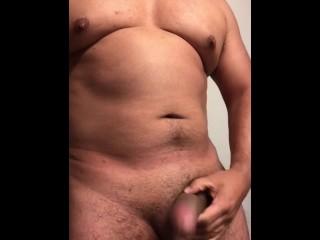Dick stroking