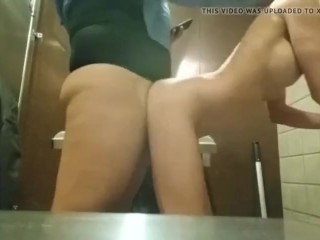 My Boss fucked me in the Company toilet
