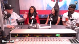 Teanna Trump & Vicki Chase - VIXEN Angels on LA Real 92.3