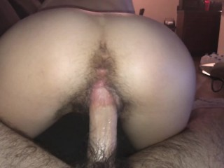 Hairy Step Sister lets me fuck her pink pussy