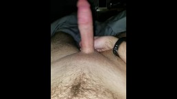 Stroking My Big Cock and Blowing a Load