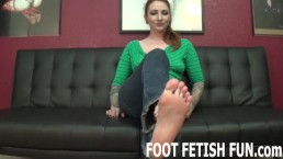 Foot Fetish Fantasy And POV Femdom Porn