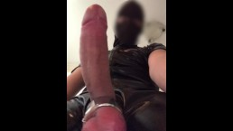 Slapping my BIG DICK ** Heavy BALL Weight **