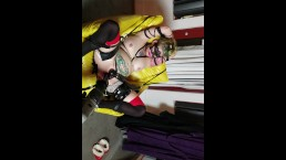 Masked Harley Quinn aka Lucy Von Trapp gets fucked