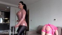 Plugged and whipped pink ass Preview