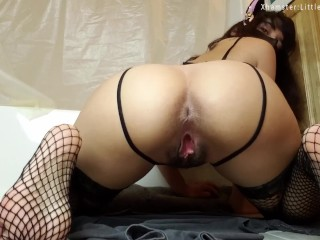 Large Kong: Stretching Fisting Fuck Slut Kitten