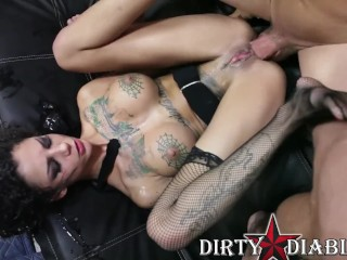 Dude porn tube allie, romi and chanel test their oral skills on a cock swallowed blo