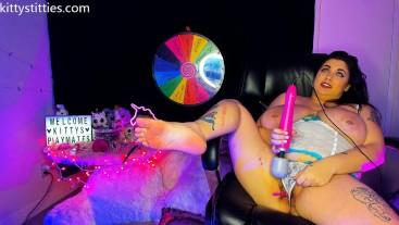 Mischievous Kitty Webcam Show 2/8/19