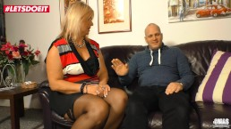 LETSDOEIT - Tinder Date with Chubby Mature Woman in Germany
