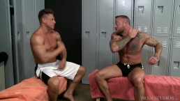 ExtraBigDicks Muscle Hunk Sean Duran Gives The Big Dick & A Cumshot