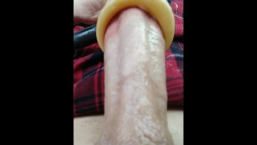 Close Up View Of Venus Sex Machine Sucking Tip Of My Cock Vegaslife486