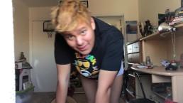 Chub Boy Cums On Socks, Pisses Undies (Request)
