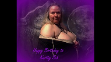 Knotty's Birthday Pictures