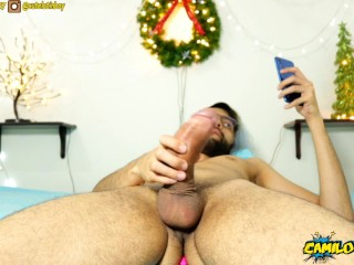 Lick my balls until you make me burst in your mouth! - Camilo Brown
