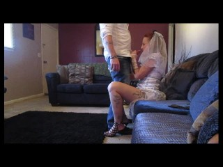 Pov Amateur Homemade Fucked my slut future daughter - in - law in her wedding dress