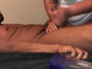 Intense orgasm! Edging and loud moaning cumshot