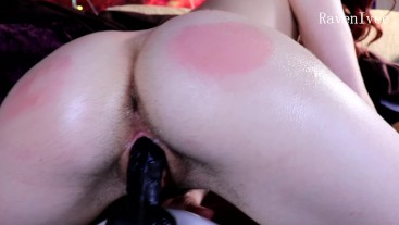 Oily Bouncy Ass Fuck