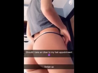 Cherie DeVille gets blackmailed by driver live on Snapchat