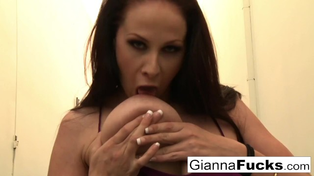 Are gianna michaels boobs real - Busty gianna michaels gets pounded by black cock