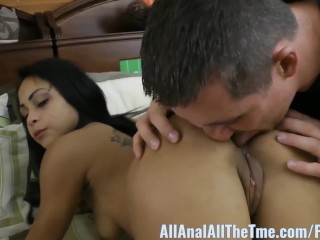 Big Booty Latin Gulliana Alexis Gets Booty Ate for All Anal!