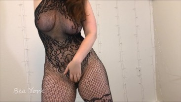 Fun in My Sexy Lacy Bodysuit