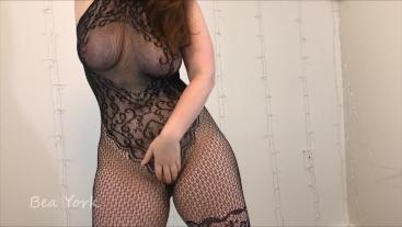 Fun in My Sexy Lacy Bodysuit
