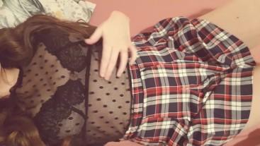 Close up of Pretty Teen Pussy Masturbating - Intense Orgasm!