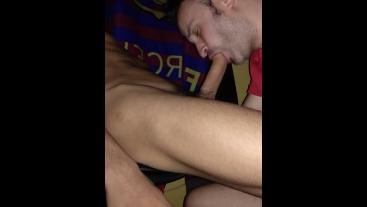 Spanish boy get sucked