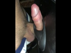 Fucking a Car Door Handle ** Felt Great **