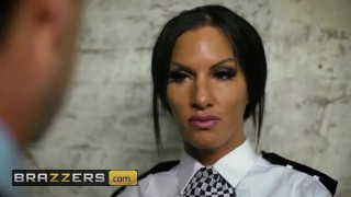 Brazzers - British cop Elicia Solis entraps some big cock porno