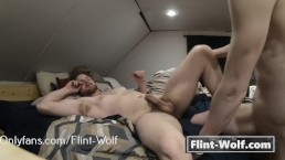 gerade beim ersten mal bareback (onlyfans.com/Flint-Wolf)
