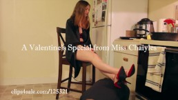 """Be My Valentine, Bitch""  Miss Chaiyles Femdom, Humiliation, Domination"