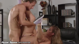 SweetSinner Passionate Hot Sex With Her College Prof. Mia monsters