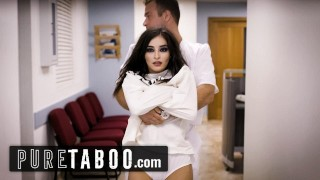 PURE TABOO Doctors Fuck Psych Paitent After She's Caught Masturbating