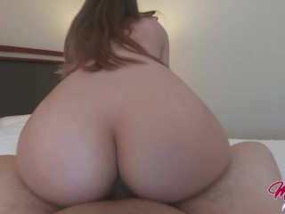 Having Sex with Mia Queen and cuming inside her tight pussy – POV HD