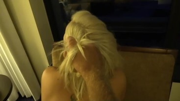 Blonde slut Holly Berry gets her ass gaped