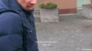 Hunter czech  mgvideos cock