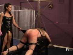 Spanked and Fucked - Dirty Fucking Hole for Mistress Dark Faye
