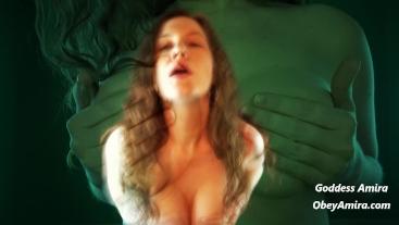 Mesmerizing Tit Worship