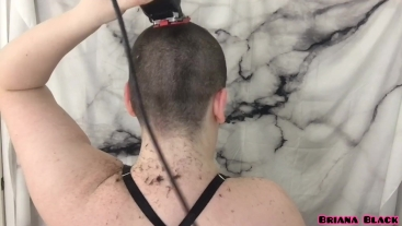 All Natural Babe Films First Head Shave