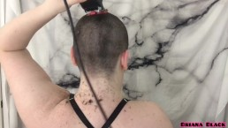 All Natural Babe Films Head Shave For First Time