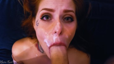 I JUST LOVE TO SUCK A BIG COCK! OMG! AND FEEL ALL THAT CUM ON MY FACE!