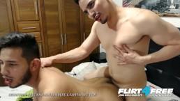 Sebastian Bass and Alexanders L on Flirt4Free - Sexy Latinos Barebacking