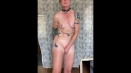 Horny Slave Girl DP Multi Orgasm Masturbation