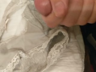 Cumming in your panties ;)