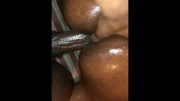 Her Man Keep Calling, But She Was Too Busy Cumming