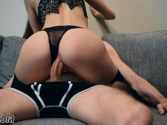 Fucked and cummed mouth to my pretty roommate - SolaZola